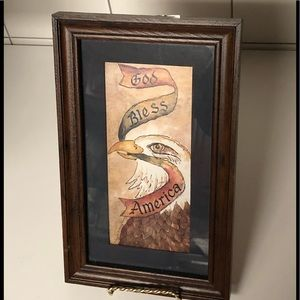 limited edition Home interiors Eagle picture